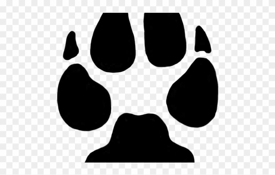 Footprint Clipart Cheetah.