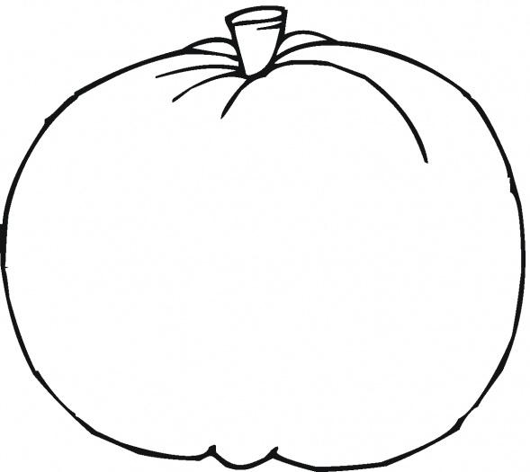 Pumpkin Outline Clipart#1869581.