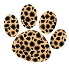 Cheetah Clipart Print.