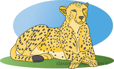 Cheetah clipart cheetah a 2.