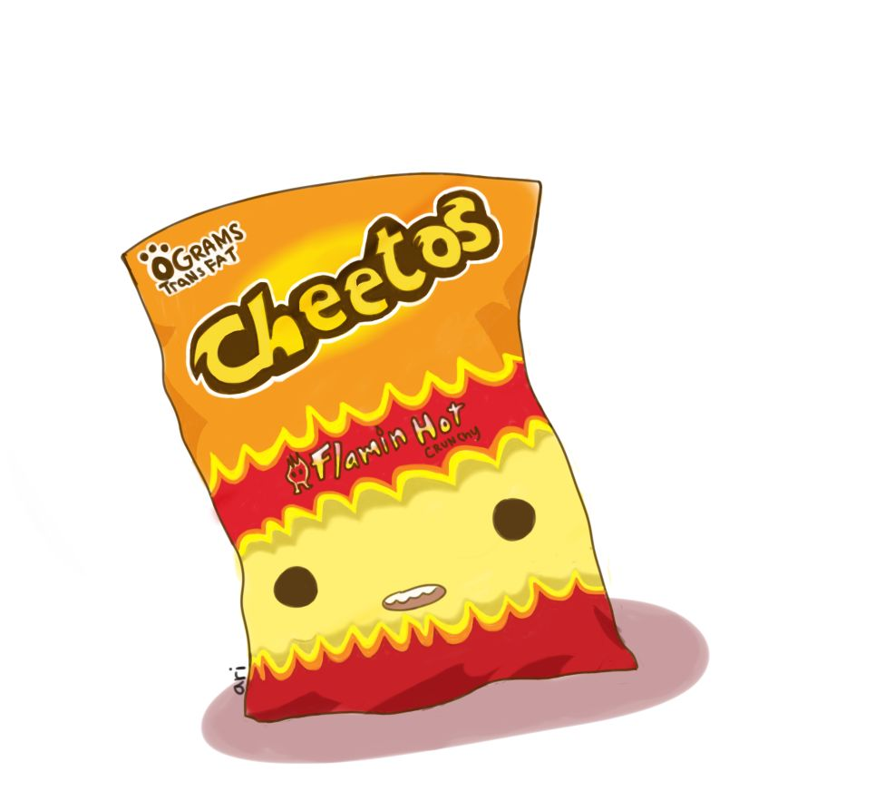 Gallery For > Cheetos Puffs Clipart.