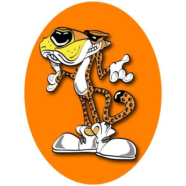 Chester cheetah clipart.