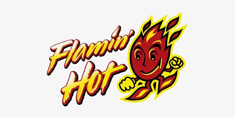 Flamin Hot Cheetos Logo Transparent PNG.