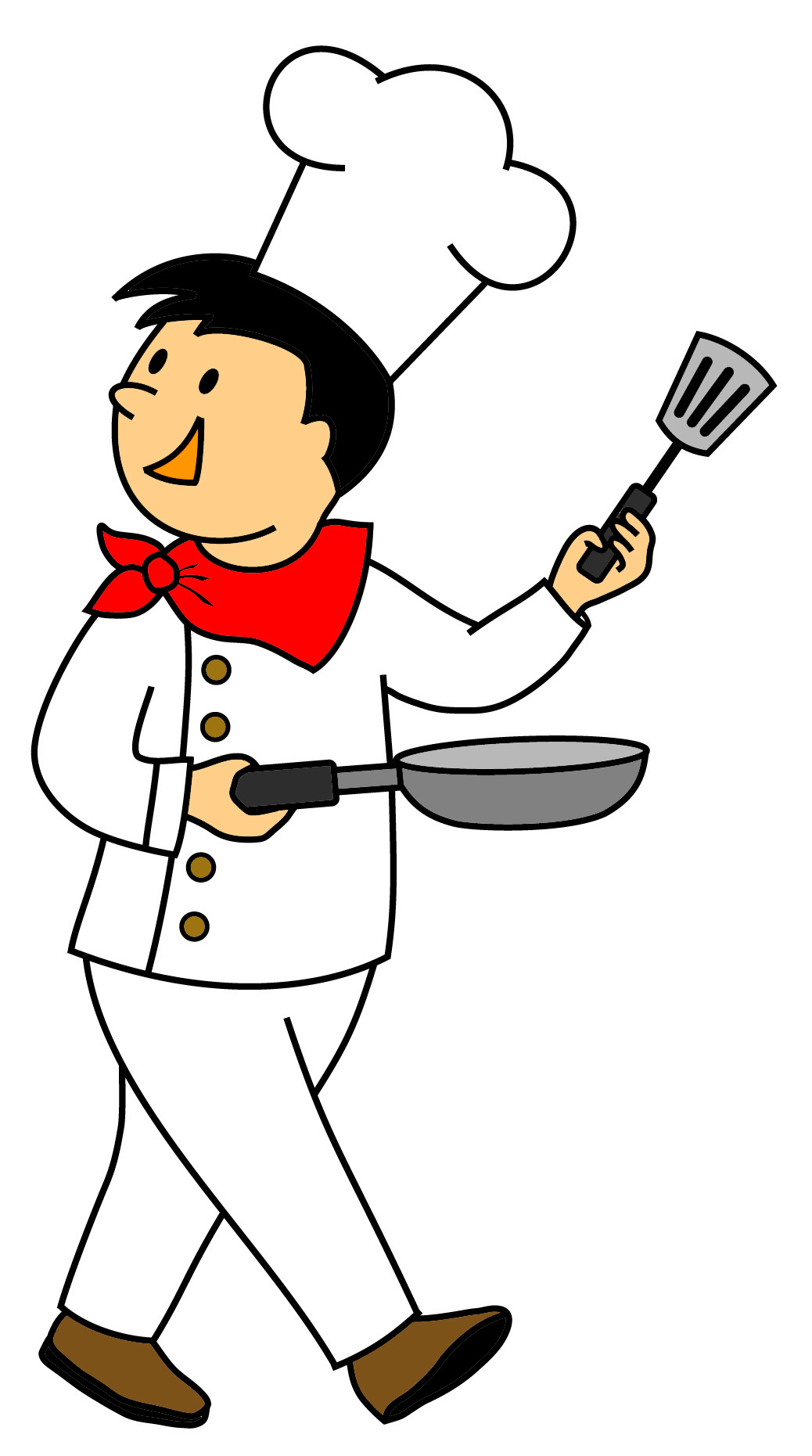 Cook clipart #7