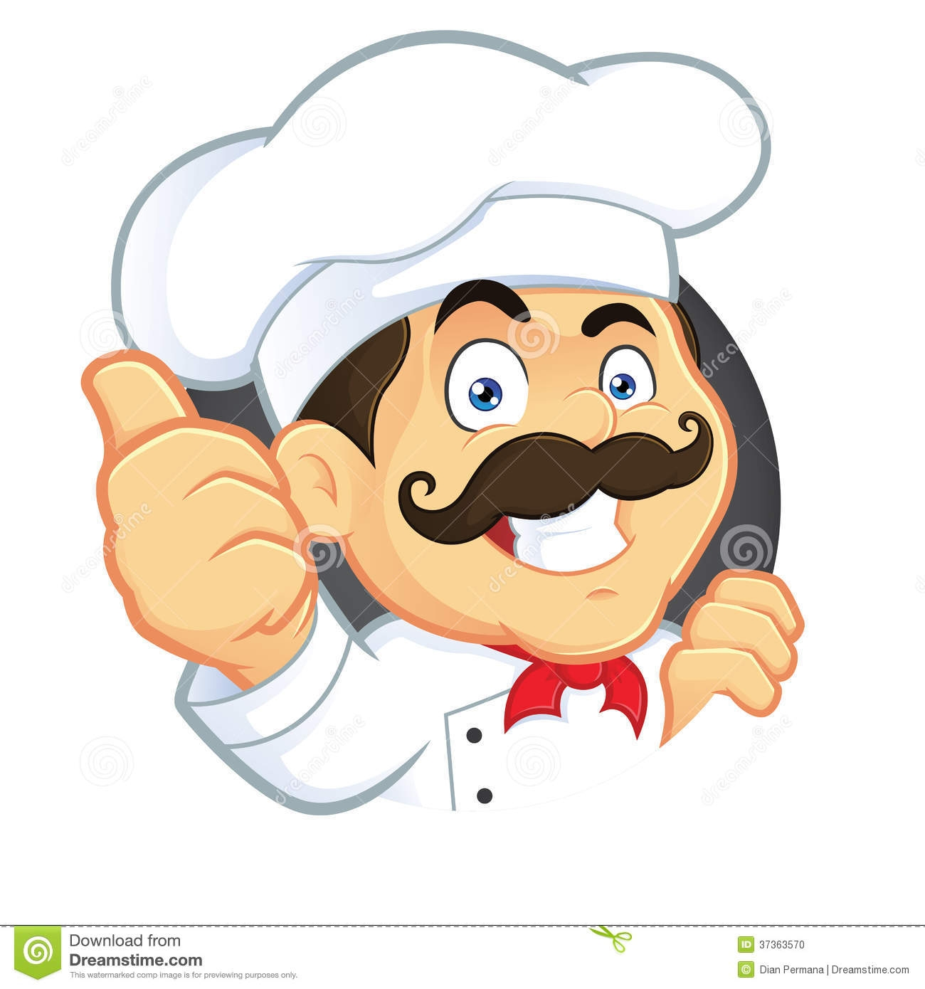 chef clipart cartoon #6