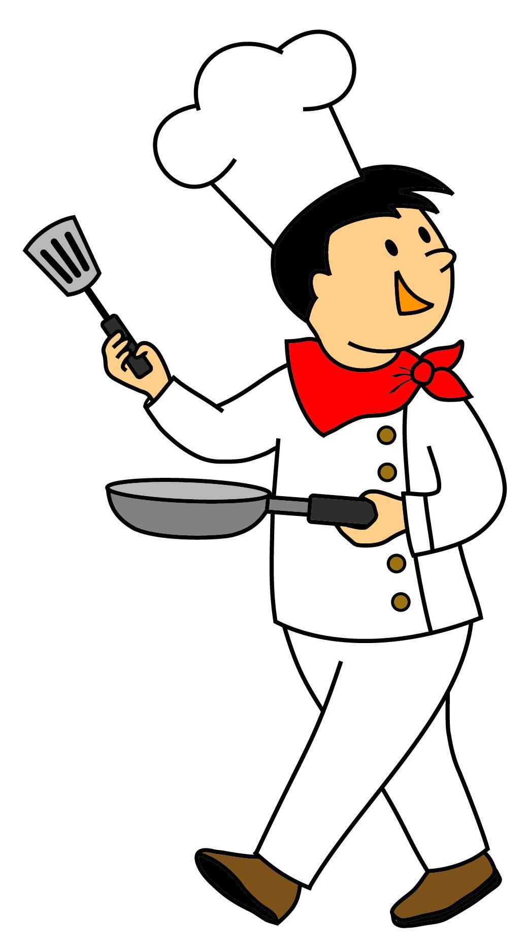Free Chef Clipart.