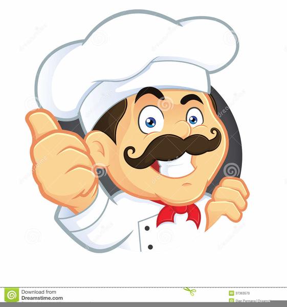 Fat Chef Clipart Free.