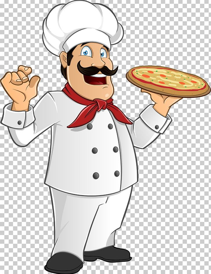 Pizza Italian Cuisine Chef Cooking PNG, Clipart, Artwork, Chef, Clip.