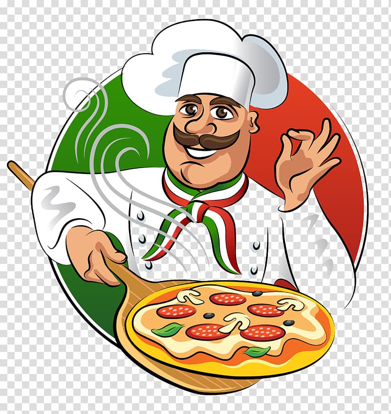 Woman in chef uniform cooking illustration, Cook Chef Icon, Cooking.