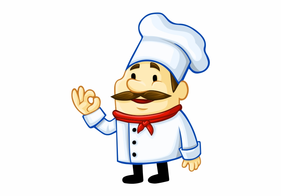 Chef Vector Png Image.