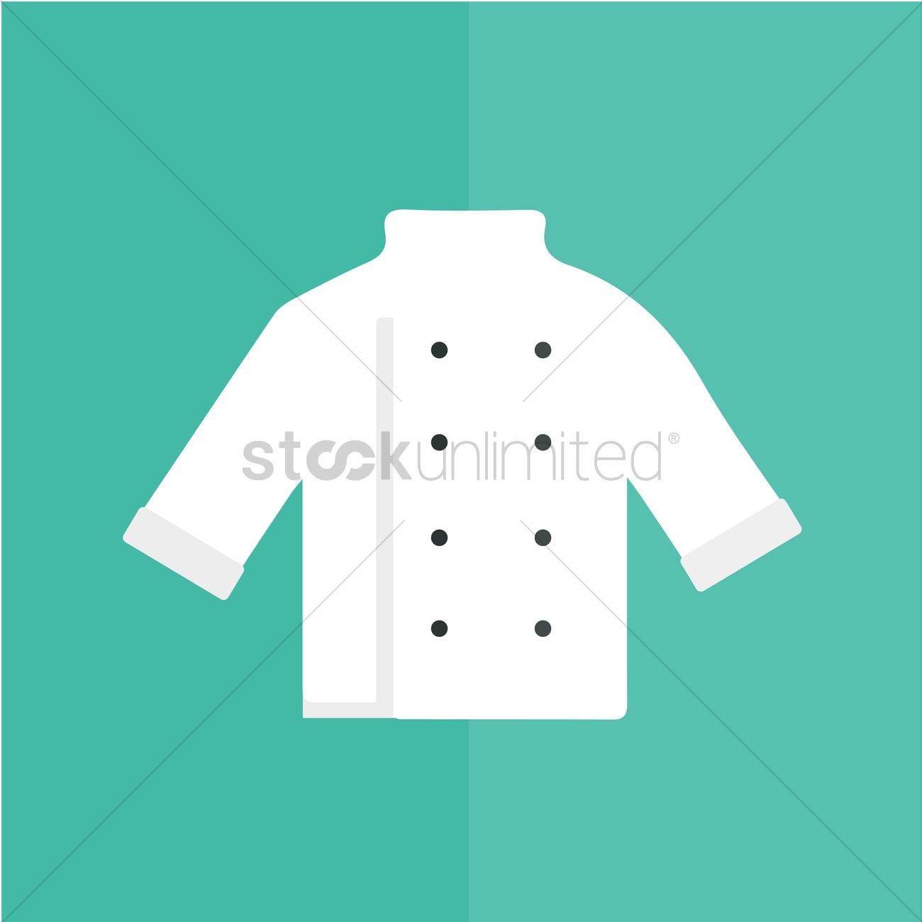 Chef coat Vector Image.