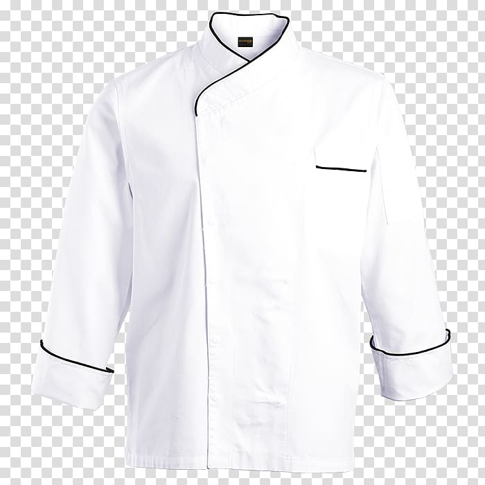 Lab Coats Chef's uniform Jacket Collar Clothing, Chef jacket.