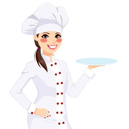 5,981 Female Chef Stock Vector Illustration And Royalty Free Female.
