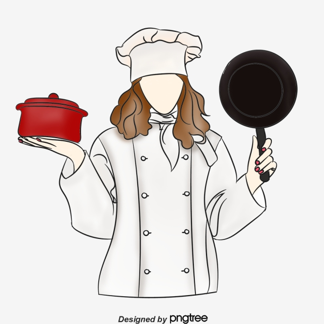 Female Chef Png, Vector, PSD, and Clipart With Transparent.
