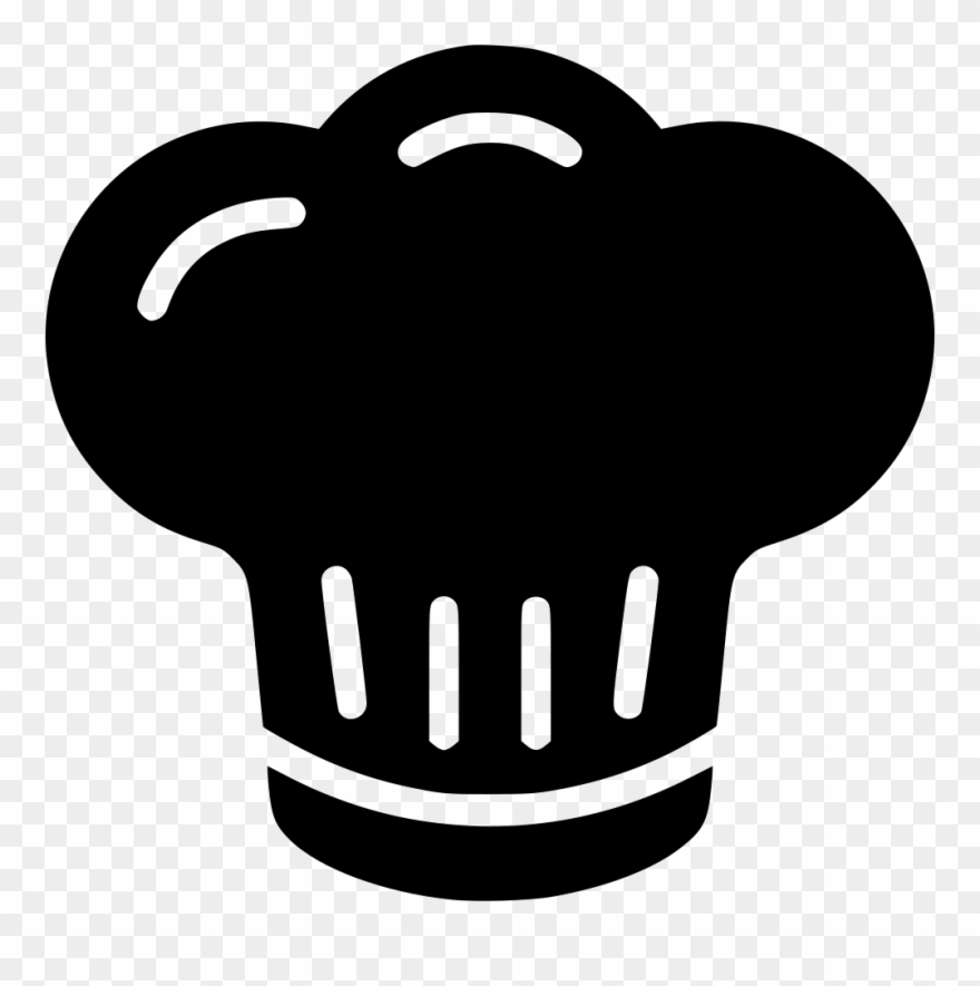 Chef Png Icon Banner Black And White Download.