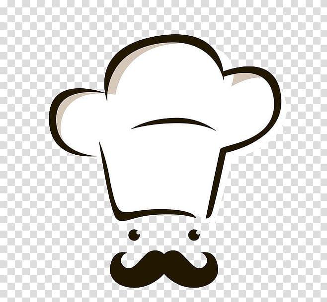 Chef hat illustration, Chef\'s uniform Icon, chef transparent.
