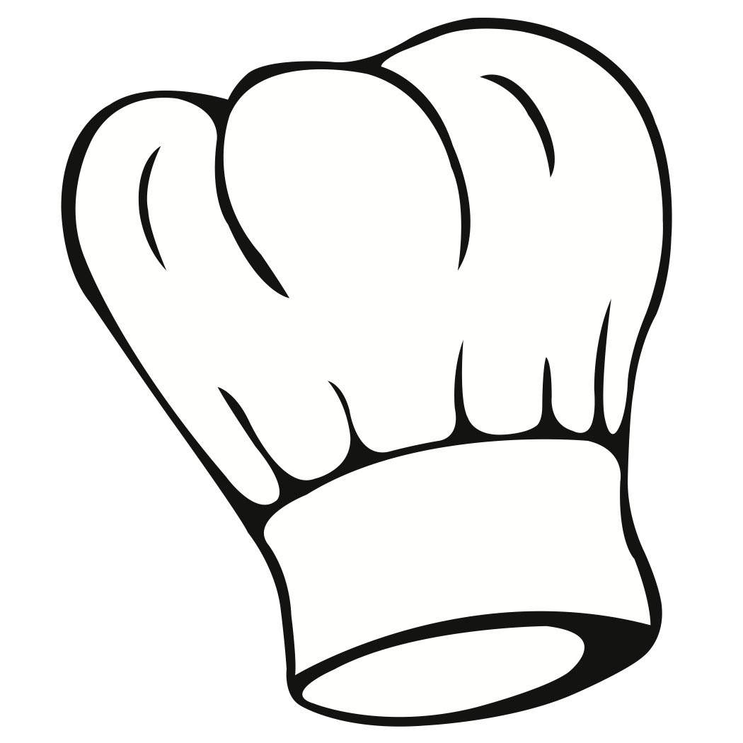 Chef Hat Drawing.