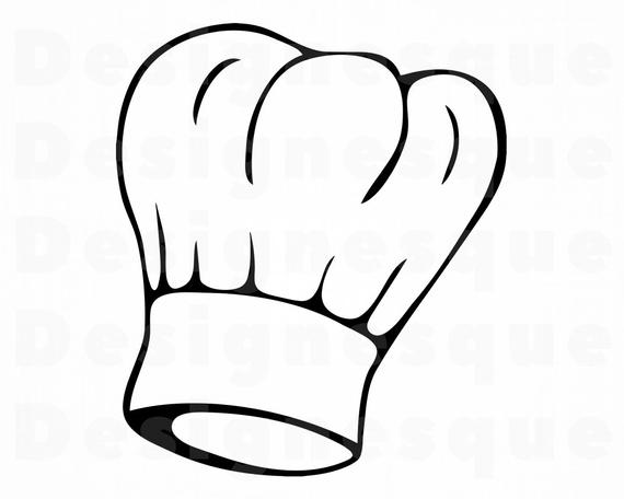 Chef Hat SVG #3, Chef Svg, Cook Svg, Chef Hat Clipart, Chef Hat Files for  Cricut, Chef Hat Cut Files For Silhouette, Dxf, Png, Eps, Vector.