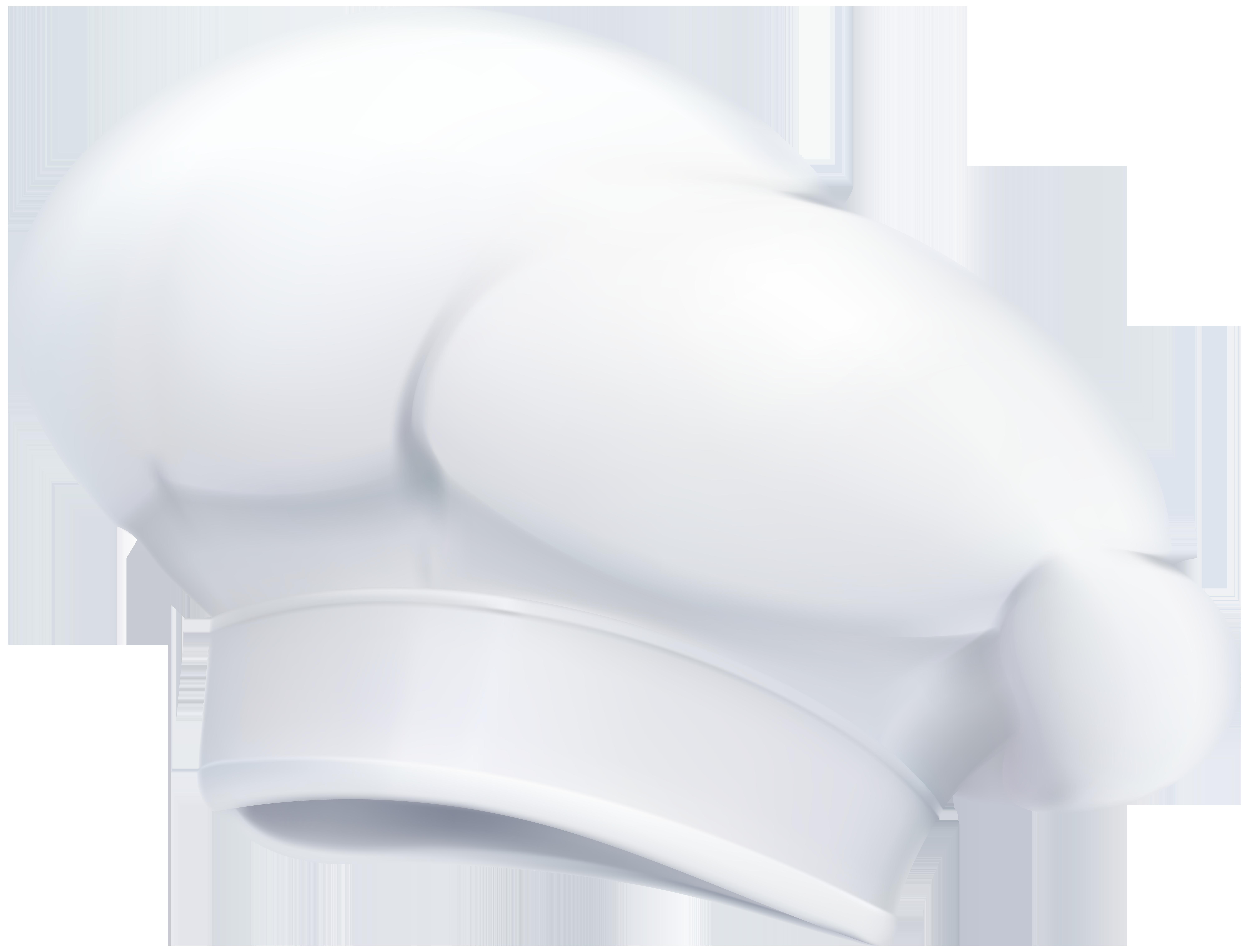 Chef Hat Transparent Clip Art Image.