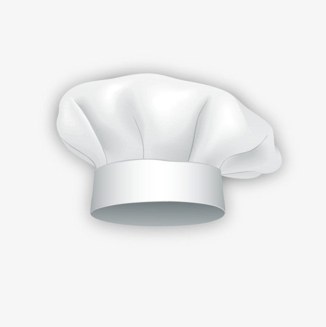 Vector Chef Hat, Chef Vector, Hat Vector, 3d PNG and Vector with.