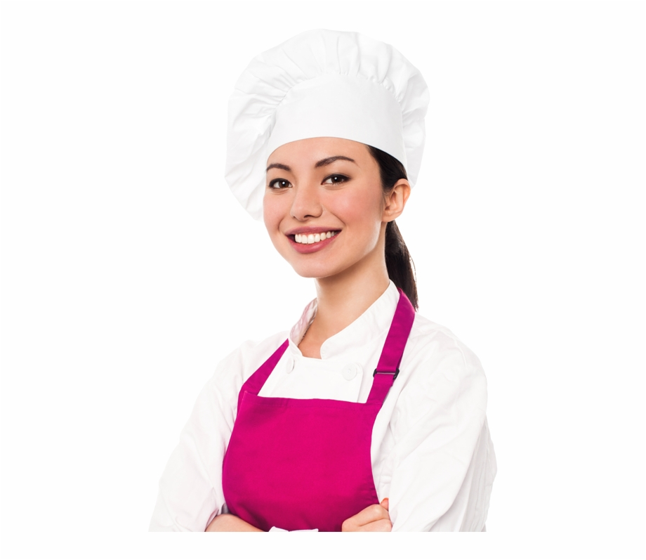Pastry Chef Woman Png, Transparent Png (4233719 ).