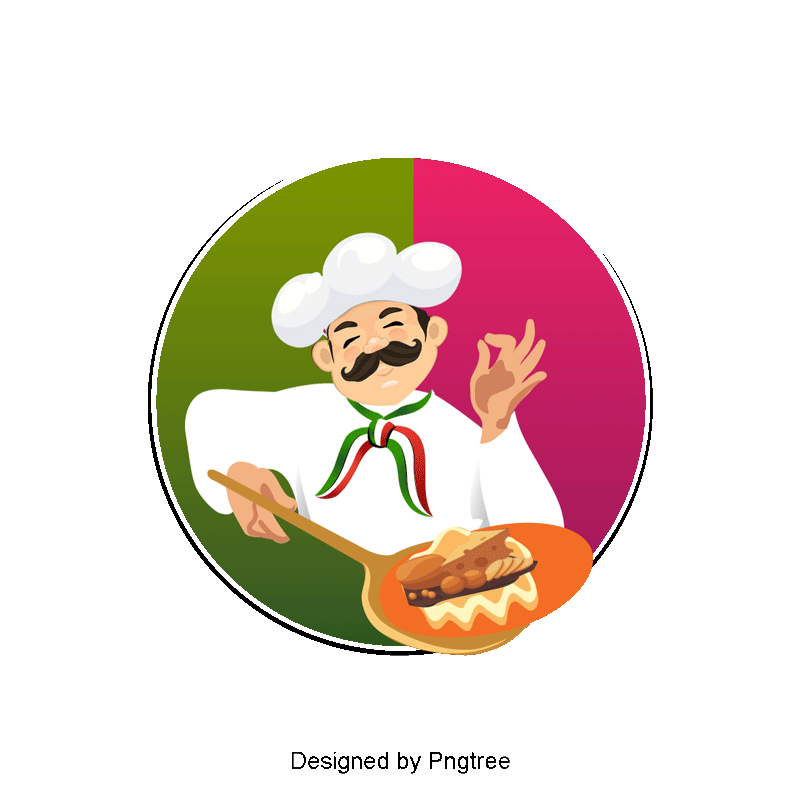 Cartoon Chef PNG Images.