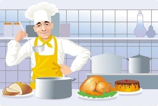 Chef clipart kitchen chef, Chef kitchen chef Transparent.