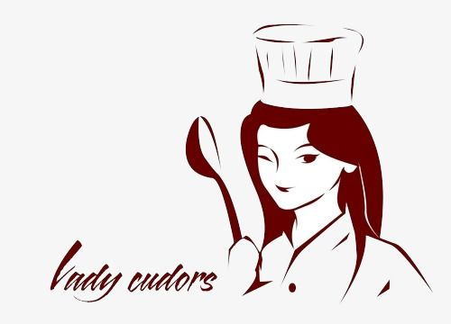 Big Chef Logo, Chef Clipart, Logo Clipart, Ms PNG.