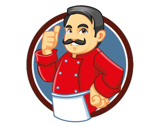 chef logo Designed by deluffys.