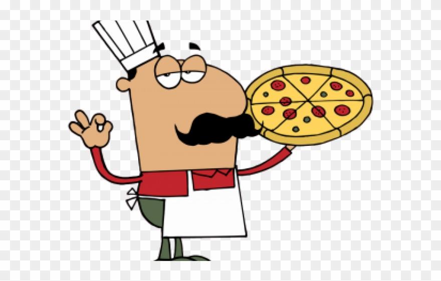 Cartoon Pizza Chef Png Clipart (#427760).