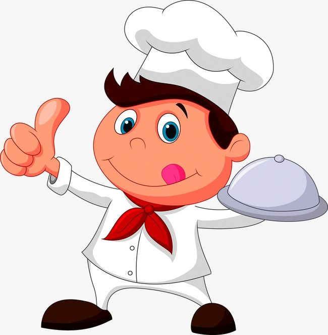 Cartoon Chef, Cartoon Vector, Chef Vector, Cartoon PNG and Vector.