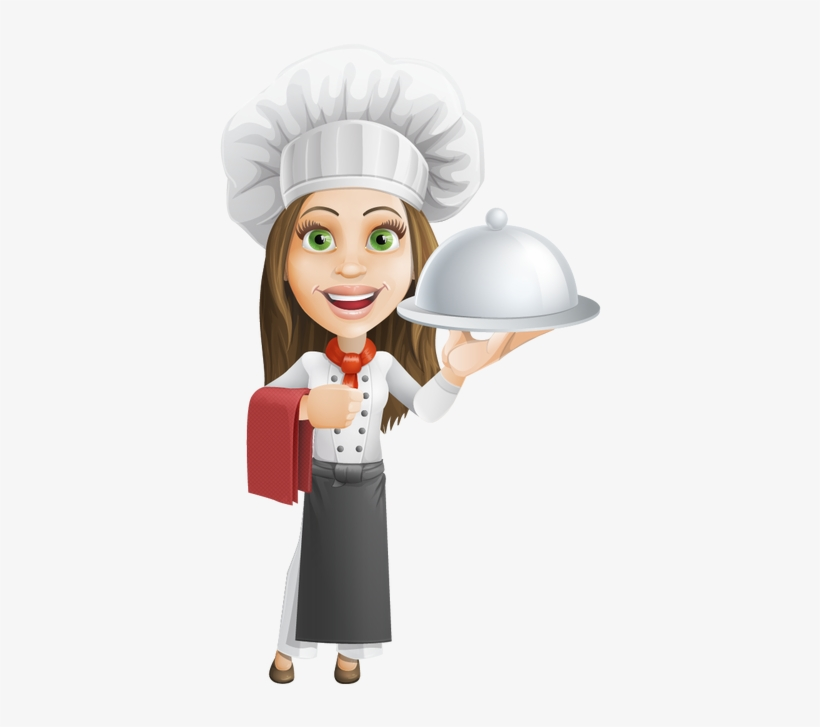 Png Download Cook Drawing Female Chef.