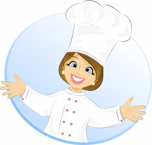 Download Free png Free Cartoon Girl Chef.