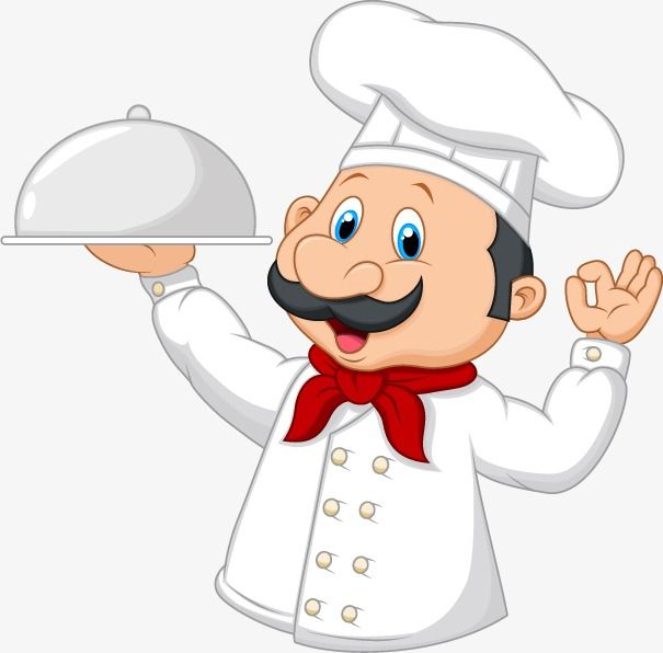 Vector Material Cartoon Chef, Cartoon Characters, Chef, Cooks PNG.