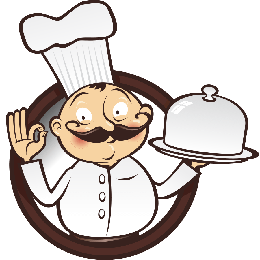Male Chef PNG Image.