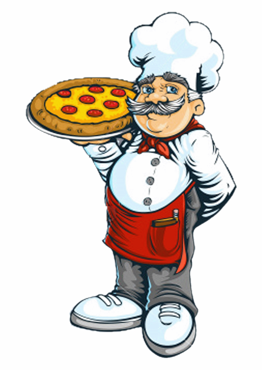 Pizza Chef Png.