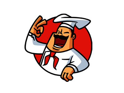 Chef Mascot Logo for sale by Suhandi on Dribbble.
