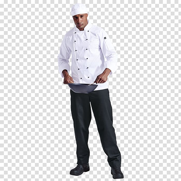 Chef\\\'s uniform Clothing Sleeve Jacket, chef transparent.