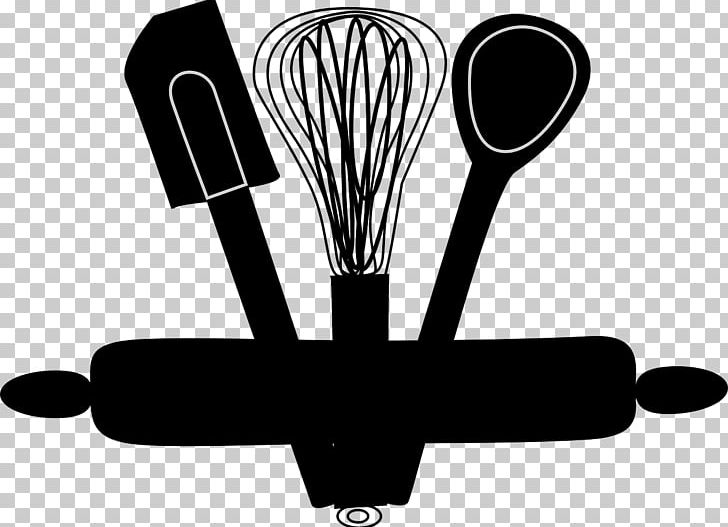 Kitchen Utensil Cooking PNG, Clipart, Apron, Baking, Black And White.