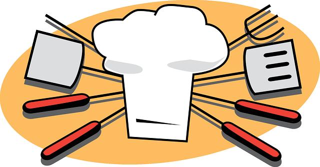 Grilling, Chef, Utensils, Bbq,.