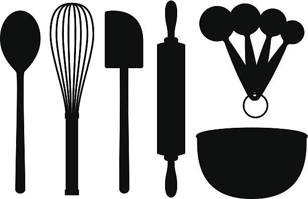 Best Cooking Utensils Illustrations, Royalty.