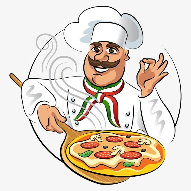 Vector Chef, Chef, Cartoon, Chef PNG Transparent Clipart.