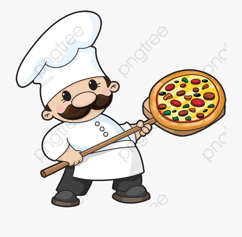 Pizza Chef Clipart , Transparent Cartoon, Free Cliparts.