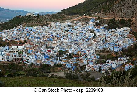 Stock Photography of Chefchaouen.