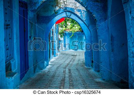 Picture of Chefchaouen, Morocco.