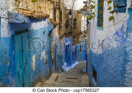 Stock Photo of Chefchaouen medina.