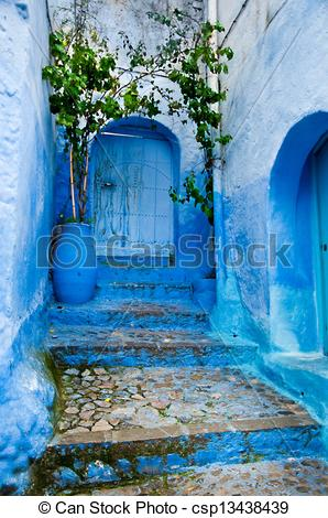 Stock Photos of Architectural details and doorways of Morocco.