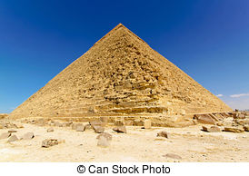Pictures of Pyramide Khafre wall.