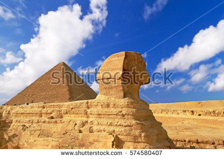 Chefren Egypt Giza Pyramid Stock Photos, Royalty.