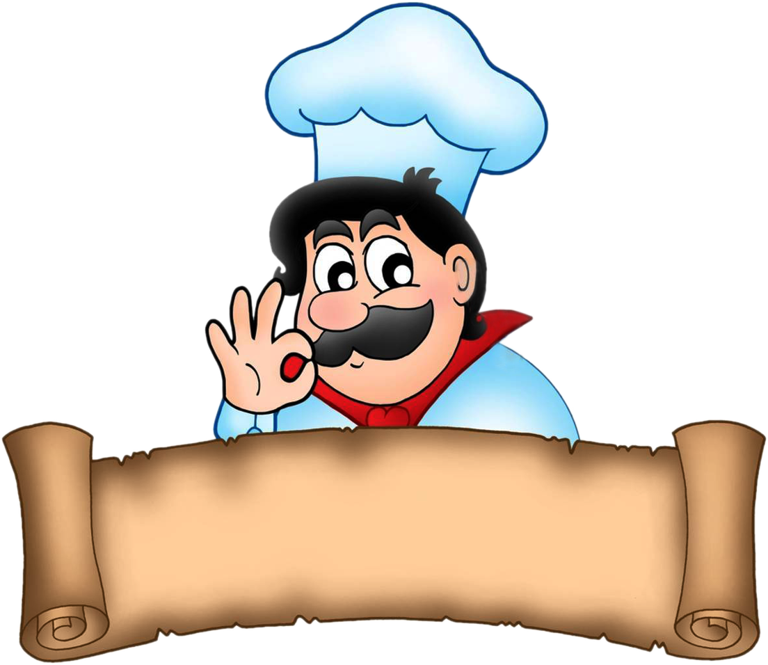 Cook clipart #2
